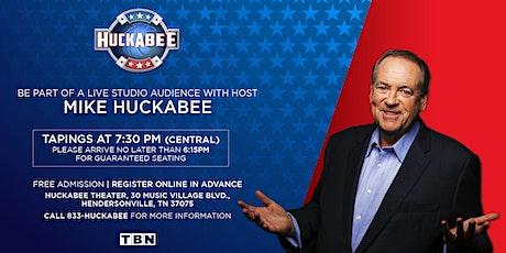 Huckabee - Friday, January 3rd, 2020 tickets
