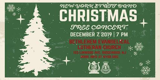 Christmas With the New York Staff Band