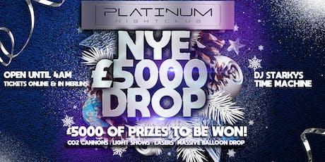 NYE £5000 Balloon Drop tickets
