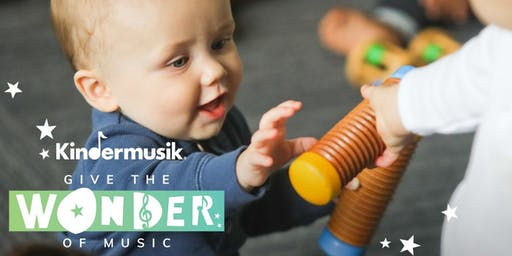 THE WONDER OF KINDERMUSIK * TRY A CLASS!