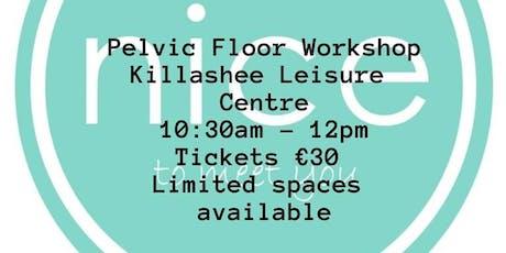 Pelvic Floor Workshop with Fitmná tickets
