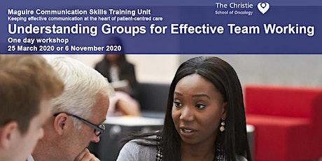 Understanding Groups for Effective Team Working - 2020 tickets