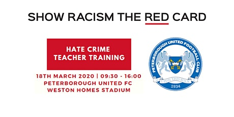 Hate Crime Teacher Training - Peterborough United FC tickets
