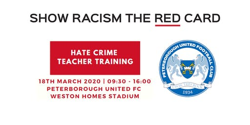 Hate Crime Teacher Training - Peterborough United FC