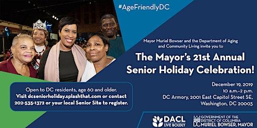 Mayor Muriel Bowser's 21st Annual Senior Holiday Celebration