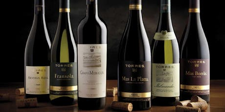 Torres Wines, A Multi-Generational and Multi National Wine Experience tickets