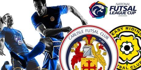Carlisle Futsal Club v East Riding Futsal Club tickets