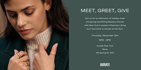 Aurate Meet, Greet, and Give tickets