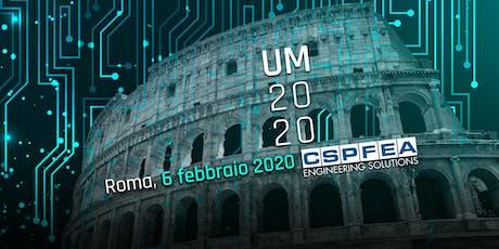 UM2020 | Le Simulazioni Innovative nei Progetti BIM di Ponti e Strutture biglietti