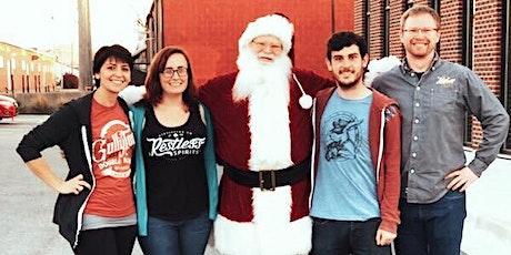 Whiskey & Waffles with Santa tickets