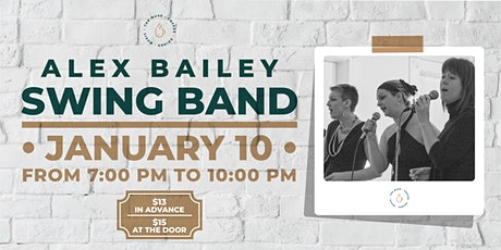 The Muse presents The Alex Bailey Swing Band tickets