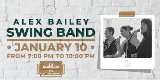 The Muse presents The Alex Bailey Swing Band