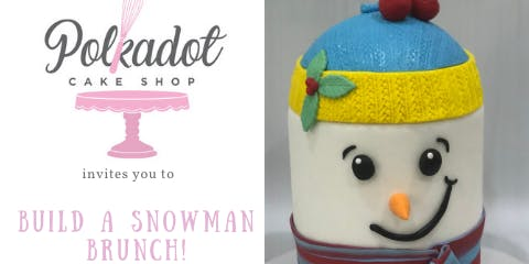 Snowman Cake and Sip