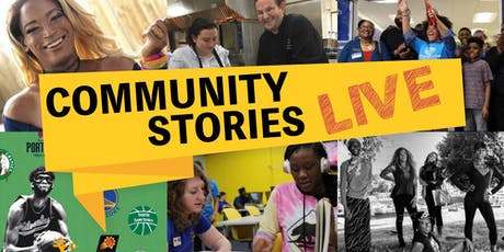 Community Stories Live tickets