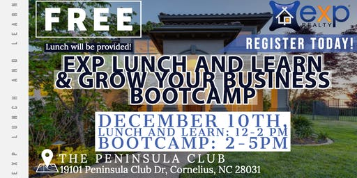 Lunch & Learn Followed by 2020 BOOT CAMP!