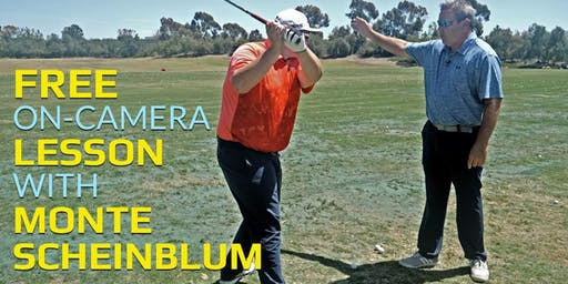 Monte Scheinblum Instructional Video Shoot On-Camera Lesson FREE!!!