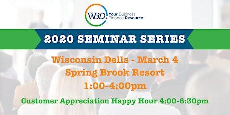 WBD 2020 Seminar Series - Wisconsin Dells tickets
