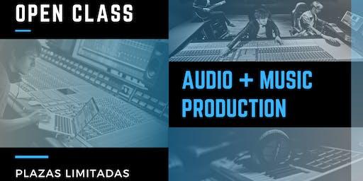 Open Class: Audio & Music Production