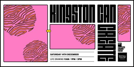 Kingston Can: CREATE - Life Drawing tickets