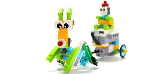 Lego Christmas theme camp