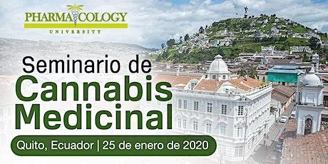 Seminario de Cannabis Medicinal Quito entradas