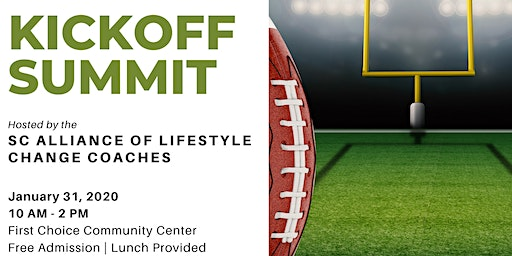 Kickoff Summit - SC Alliance of Lifestyle Change Coaches