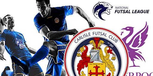 Carlisle Futsal Club v Liverpool Futsal Club
