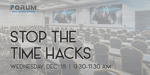 Stop the Time Hacks