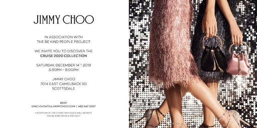 The Be Kind People Project at Jimmy Choo