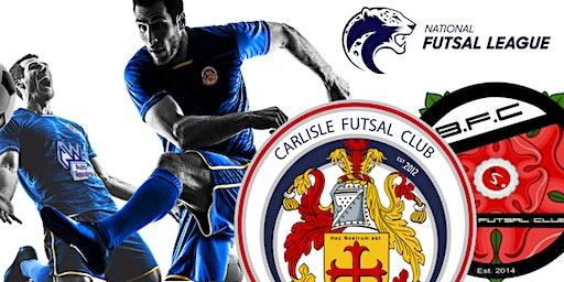Carlisle Futsal Club v Bolton Futsal Club