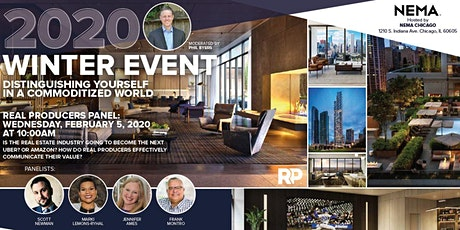 Chicago RP Winter 2020 Event, Agent Panel and Social tickets