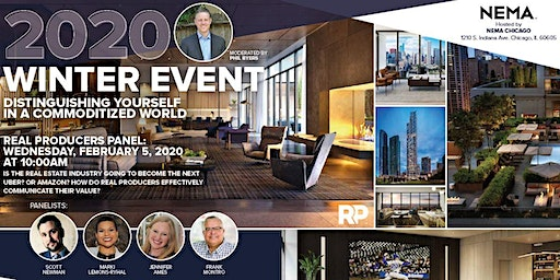 Chicago RP Winter 2020 Event, Agent Panel and Social