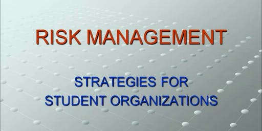 Risk Management Training Spring 2020