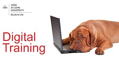 WE1: Website CMS Basic training (Thur 16th Apr 2020 14:00-16:00)