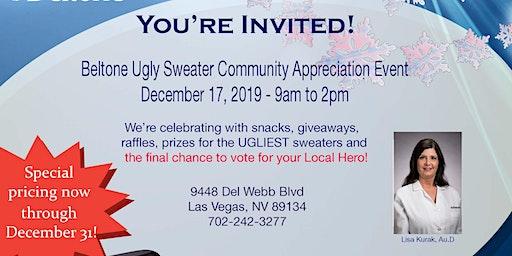 Beltone Sun City Community Appreciation Ugly Sweater Party