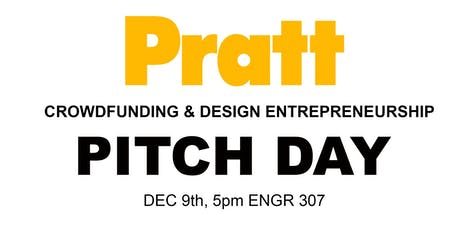 PRATT ID: Entrepreneurship & Crowdfunding PITCH DAY tickets