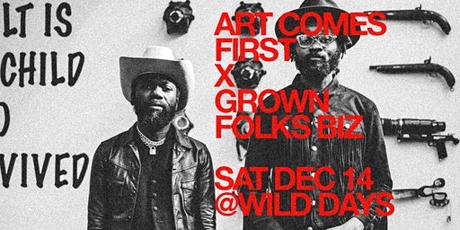 Art Comes First Party