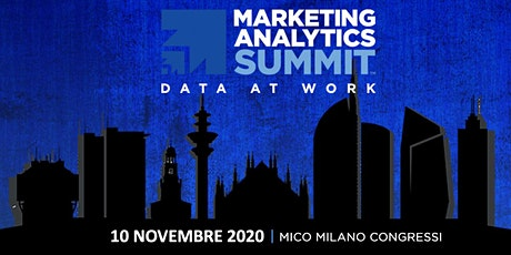 Marketing Analytics Summit 2020 biglietti