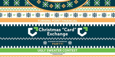"""Christmas """"Card"""" Exchange tickets"""