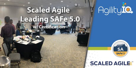 Leading SAFe® 5.0 with Certification tickets