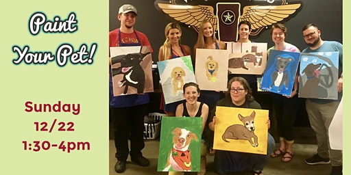 Paint Your Pet at Veterans United Craft Brewery!