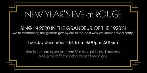 ROUGE'S Roaring 20s NYE Party!