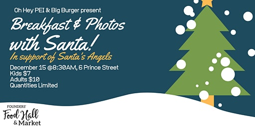 Breakfast & Photos with Santa!!