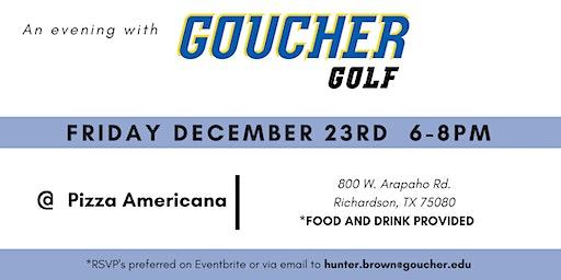 An Evening with Goucher Golf