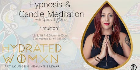 12/8- Group Hypnosis & Candle Meditation: Intuition tickets