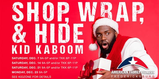 Shop, Wrap & Hide Kid Kaboom