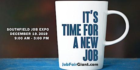 Southfield-Detroit Job Fair - December 19, 2019 tickets