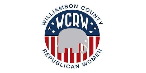 Williamson County Republican Women December 12, 2019 Luncheon