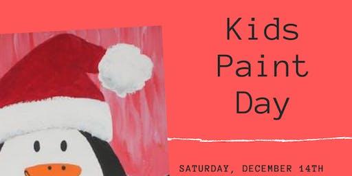 December Kids Paint Day