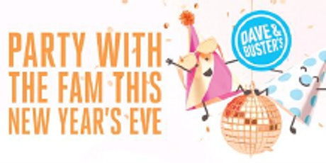 Midday Family New Year's Eve 2020 - Dave & Busters, Edina tickets